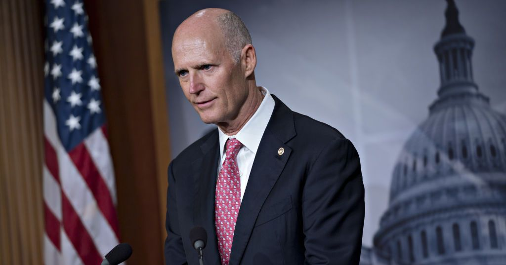 Rick Scott Is An Odd Choice To Lead Gop S Health Care Reform