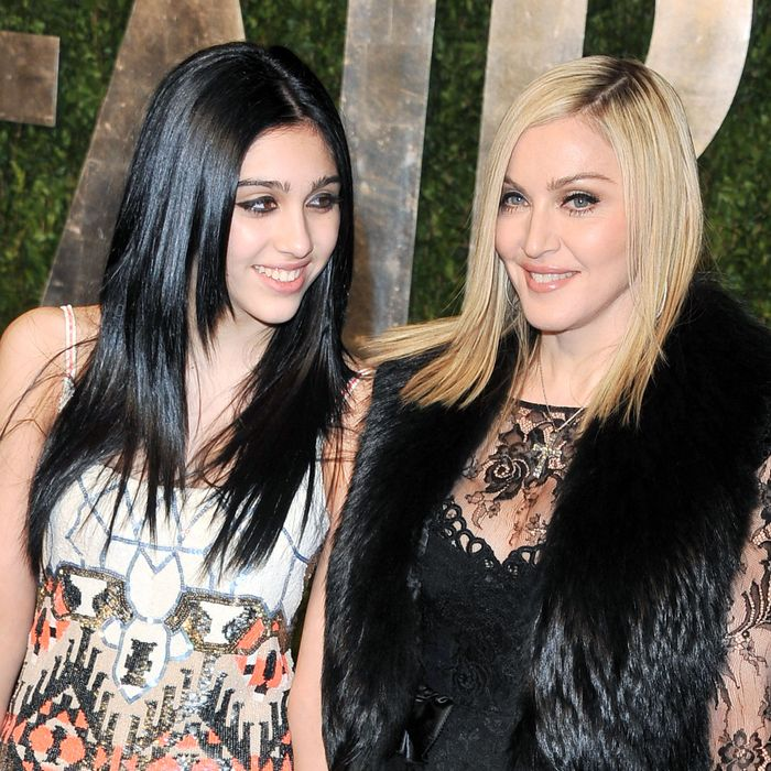 Lourdes and Madonna.
