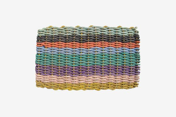 The New England Trading Company The Original Colors of Maine Recycled Lobster Rope Doormat