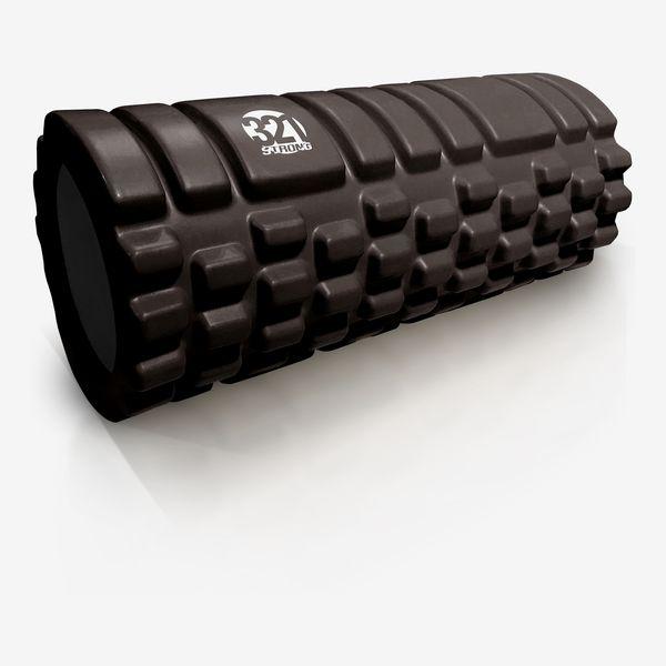 321 STRONG Medium-Density Massaging Foam Roller
