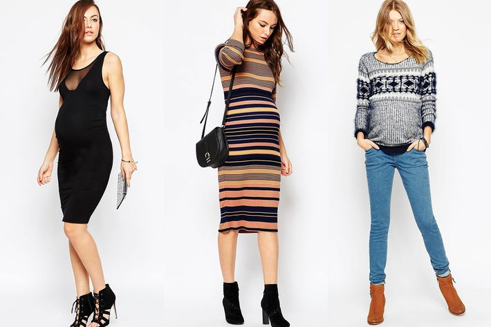 ASOS maternity line, available through the program.