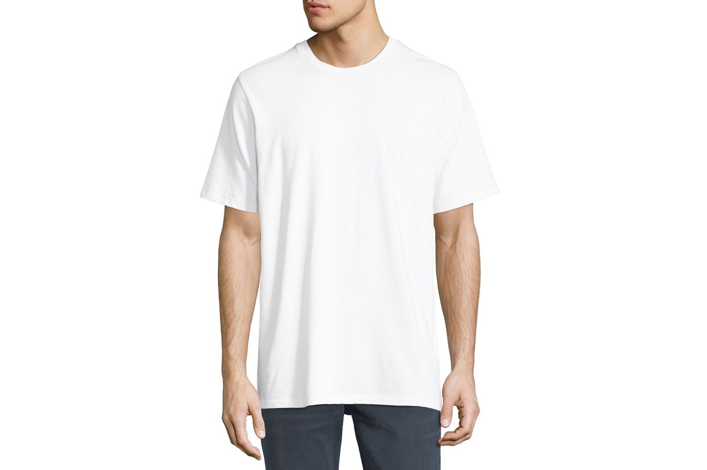 Rag & Bone Flocked 5 Print T-shirt