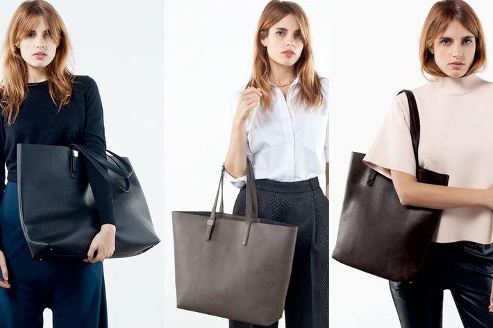 Everlane's bags.
