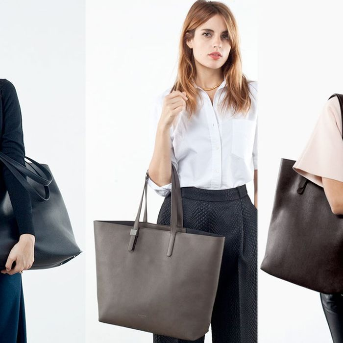 Everlane's bags.