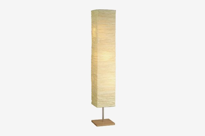Toombs Column Floor Lamp See More by Wrought Studio