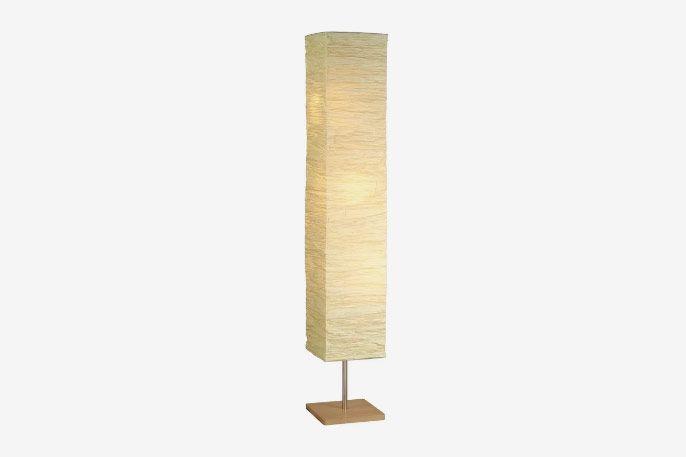 Toombs Column Floor Lamp See More by Wrought Studio
