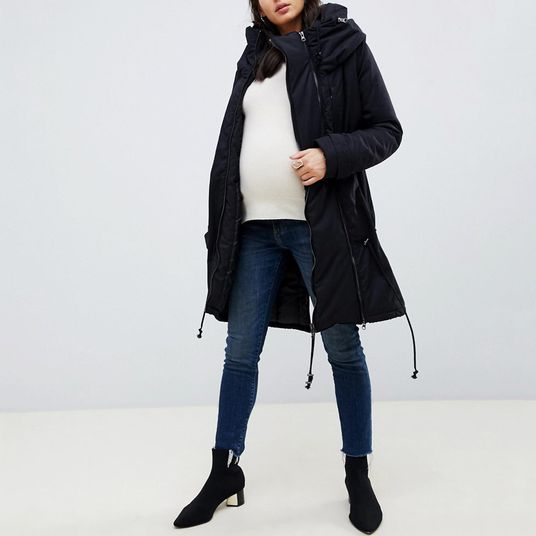 a99fac02862b The Best Winter Coats (That Aren t Hideous) for Pregnant Women