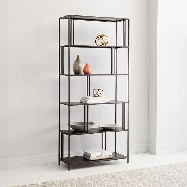 West Elm Profile Wide Bookcase, 34