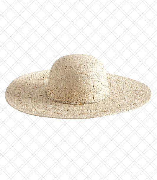 "When worn with Ray Bans, someone can actually get away with this hat.  <i>$29.99 at <a href=""http://www.loft.com/loft/product/LOFT-Shoes-Accessories/LOFT-View-All-Accessories/Natural-Beach-Hat/280587?colorExplode=false&skuId=11609735&catid=catl000021&productPageType=fullPriceProducts&defaultColor=8821"">LOFT</a></i>"