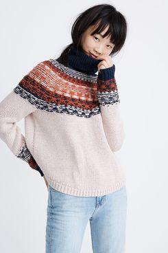 Brookdale Fair Isle Turtleneck Sweater