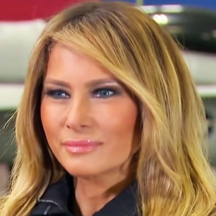 What Does Melania Trumps Blonde Hair Mean