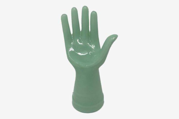 Generic Jadeite Mannequin Jewelry Ring Display Hand