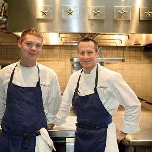 Philip Tessier and Commis Skylar Stover.