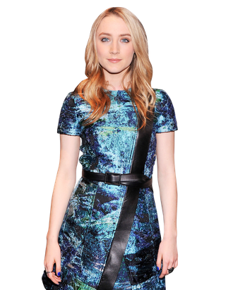 Actress Saoirse Ronan attends The Cinema Society and Jaeger-LeCoultre Hosts A Screening Of