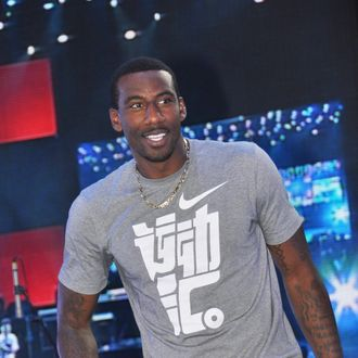 SHANGHAI, CHINA - AUGUST 21: (CHINA OUT) American professional basketball player Amare Stoudemire of the New York Knicks attends NIKE Promotional Event on August 21, 2011 in Shanghai, China. (Photo by ChinaFotoPress/Getty Images)