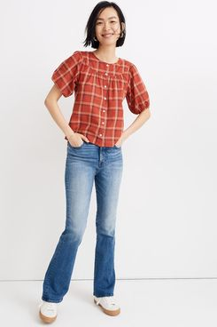 Madewell Prose Shirt in Plaid