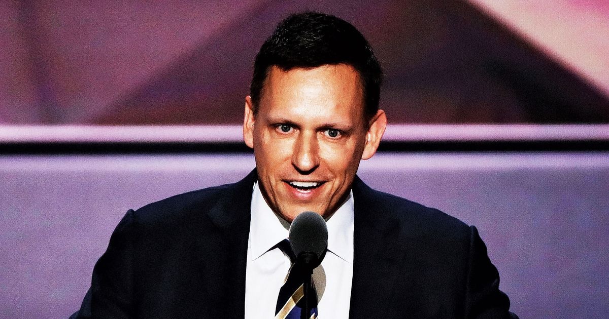 Peter Thiel's Latest Venture Is the American Government