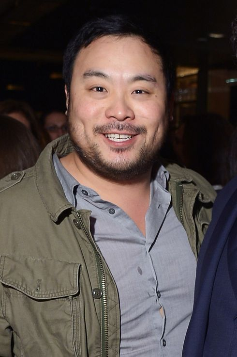 "NEW YORK, NY - APRIL 22:  Chef David Chang and director Jon Favreau attend the ""Chef"" Premiere after party during the 2014 Tribeca Film Festival at American Cut on April 22, 2014 in New York City.  (Photo by Michael Loccisano/Getty Images for the 2014 Tribeca Film Festival)"