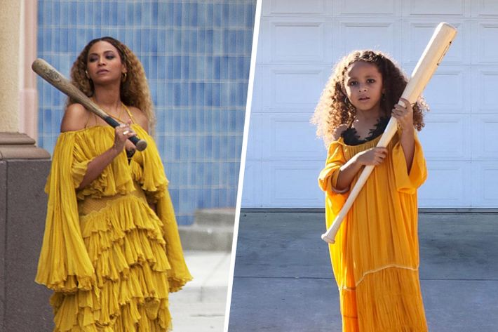 5-Year-Old Recreates Beyoncé Outfits for Halloween