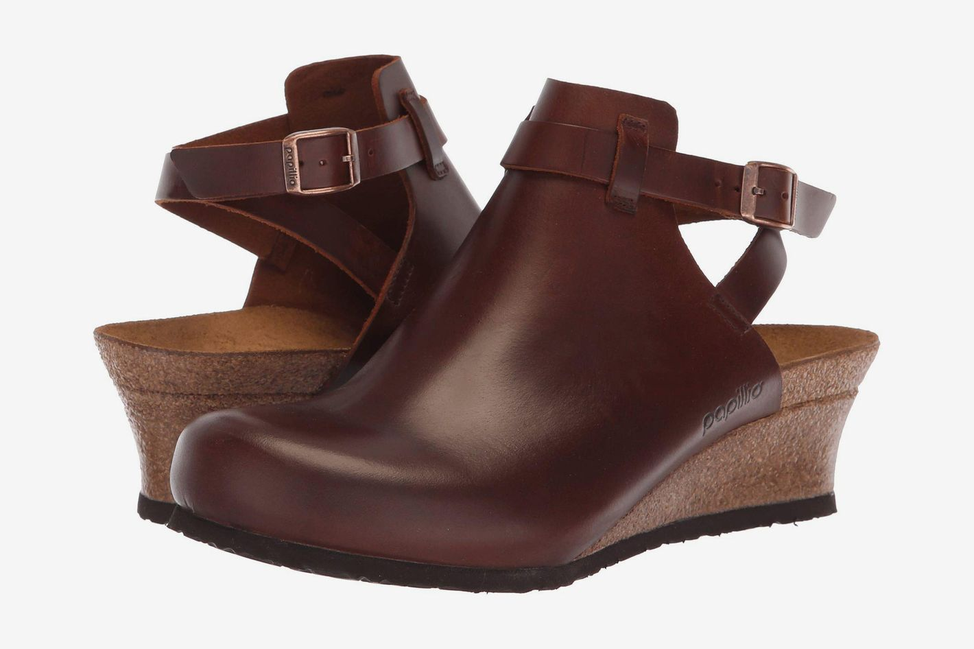 Birkenstock Esra Cognac Leather