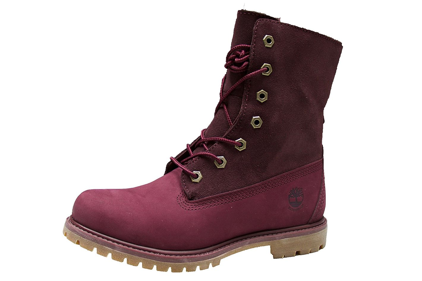 4b1603b90b7 Timberland Women s Teddy Fleece Fold-Down Waterproof Boot