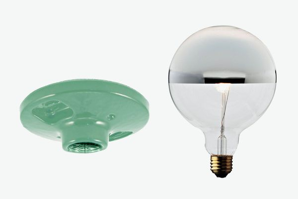 Commune Socket and Chrome Bulb