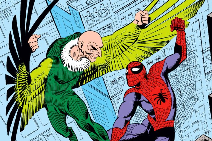 Image result for vulture spider-man comics