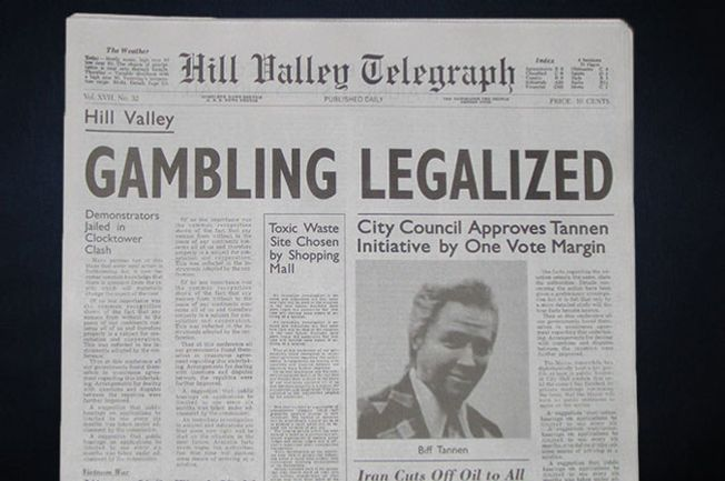 The most plasubile headline in the <em>Back to the Future</em> series.