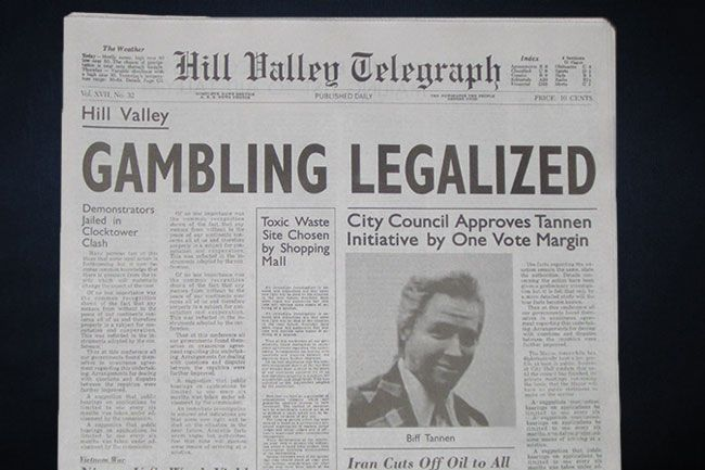 Newspaper Investigations Of Toxic >> Back To The Future S Terrible Newspaper