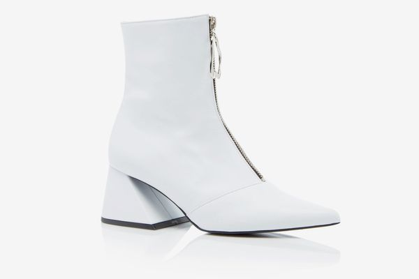 Yuul Yie Patent-Leather Ankle Boots