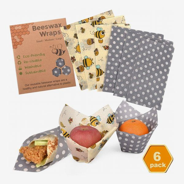 Reusable Beeswax Wrap Assorted 6 Pack