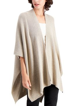Eileen Fisher Organic-Cotton Serape Sweater