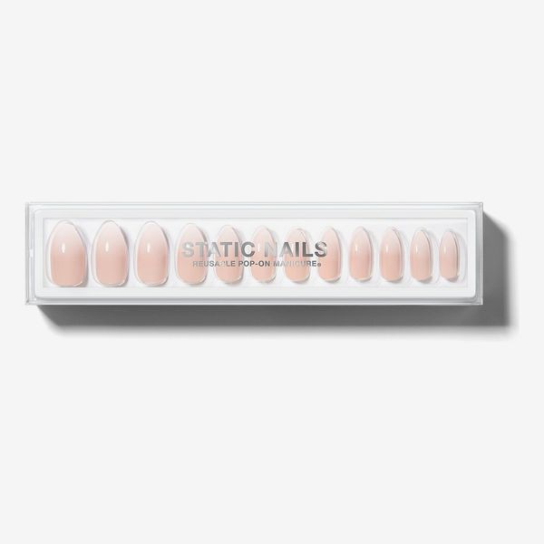 Static Nails in Mademoiselle Almond