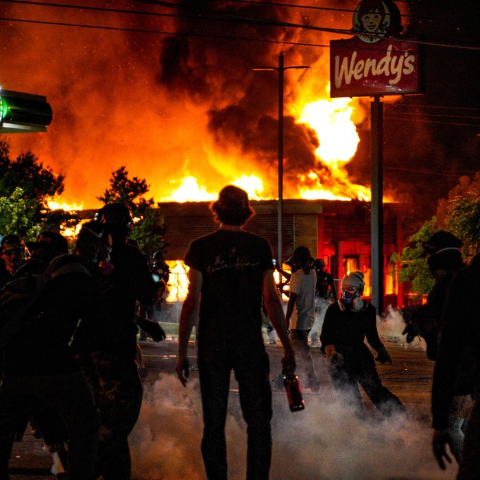 A Wendy's in Atlanta was set on fire after police killed Rayshard Brooks in its parking lot.