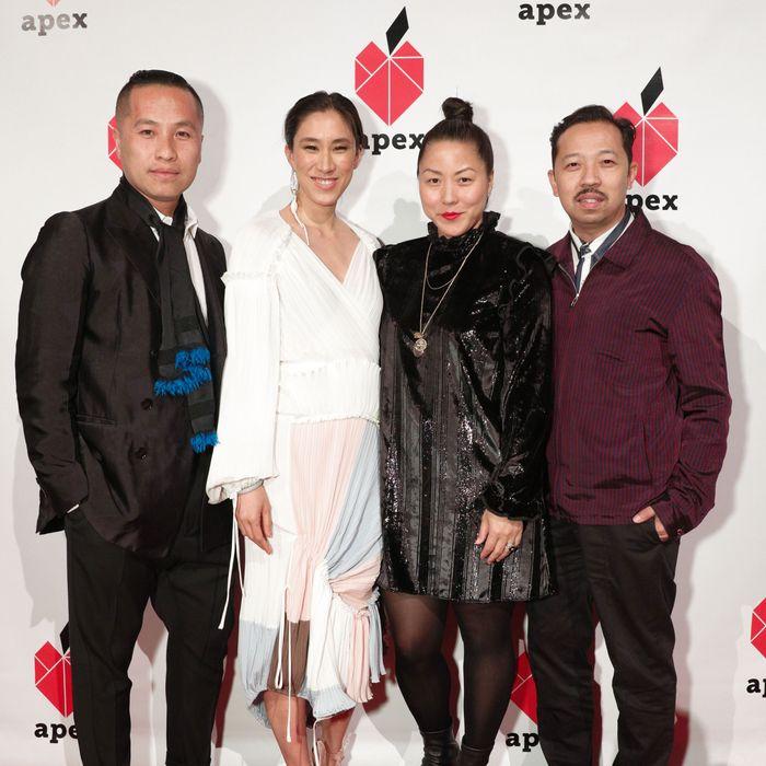 Philip Lim, Eva Chen, Carol Lim, and Humberto Leon.