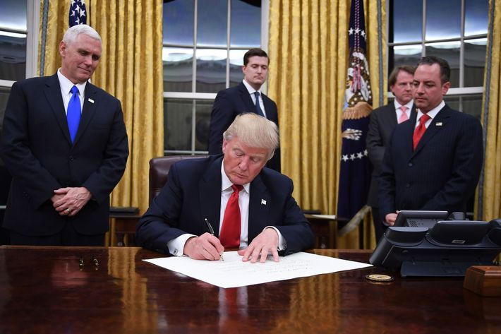 President Trump Signs Order Revoking Federal Funding for Abortion Overseas