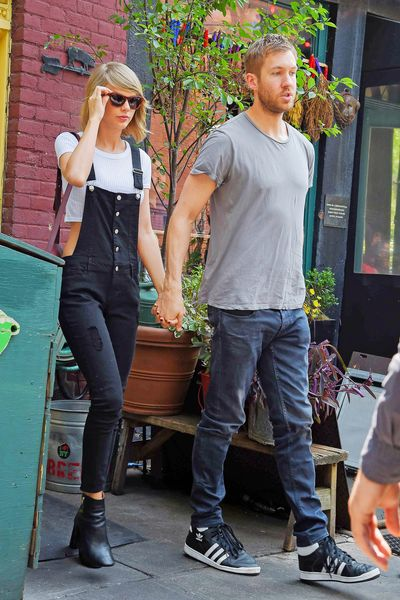 Taylor Swift and Calvin Harris Dine at the Spotted Pig; Dwyane Wade Stops by Junior's