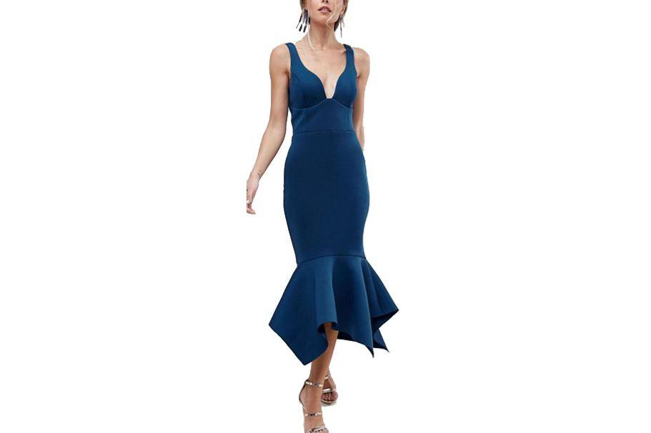 ASOS Peplum Dress