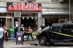 Stolen Hummer Hits RUB Restaurant in Chelsea