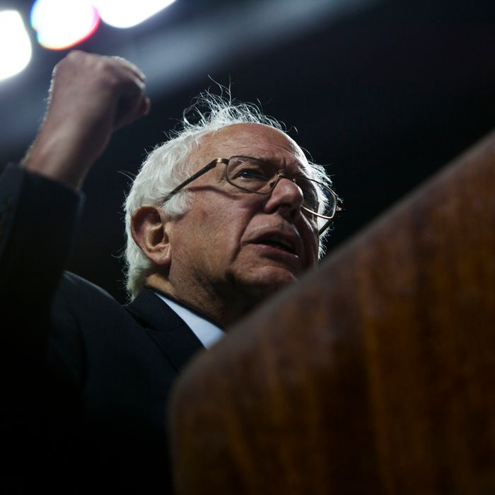 Bernie Sanders Holds Campaign Rally At Temple University In Philadelphia