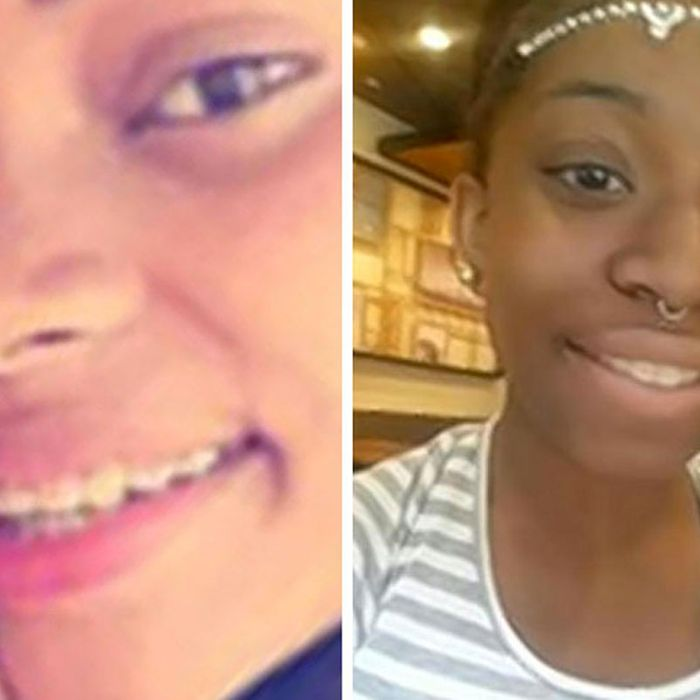 Three of the missing teen girls.
