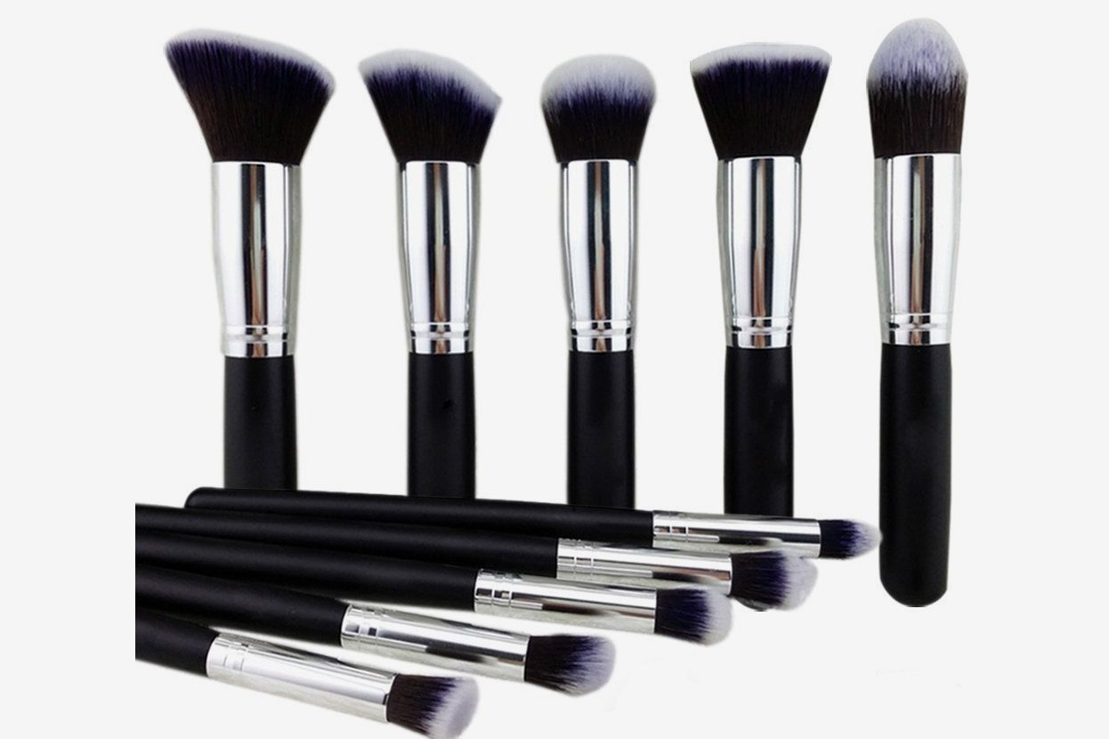 BEAKEY Makeup Brush Set 12-Piece Set