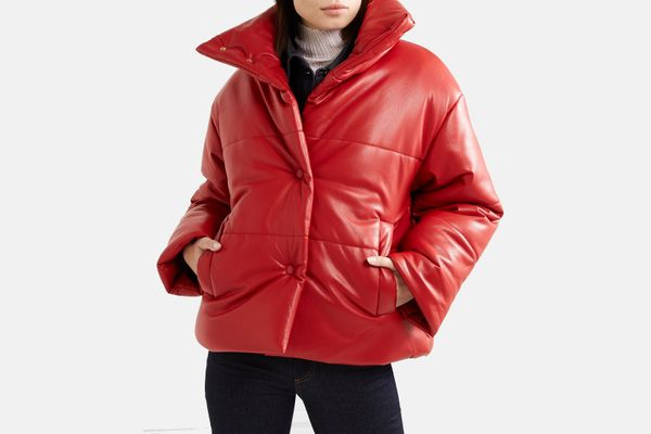 Nanushka Hide Oversized Vegan Leather Jacket