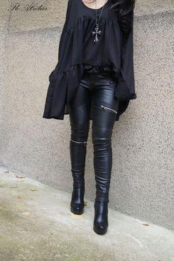 Flo Atelier Vegan Leather Pants
