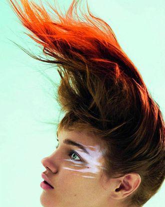 Natalia Vodianova for French <em>Vogue</em>.