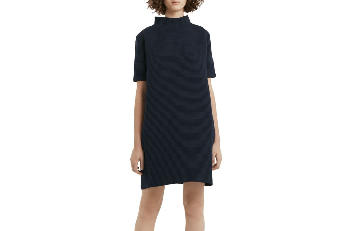 French Connection Marin Mock Turtleneck Dress
