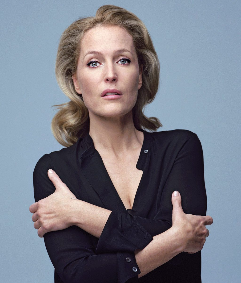 Gillian Anderson Is Ready to R...