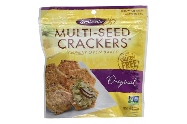 Crunchmaster Multi-Seed Crackers, 2-Pack