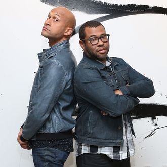 NEW YORK, NY - OCTOBER 10: Key & Peele pose for a portrait at AOL Studios before a talk from AOL's BUILD Series on October 10, 2014 in New York City. (Photo by Taylor Hill/Getty Images)