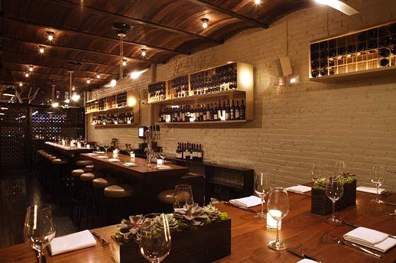 The cozy, regional Italian restaurant opened in December 2008.